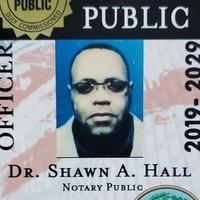 Notary Public in BLUFFTON , South Carolina 29910, Dr. SHAWN A. Hall