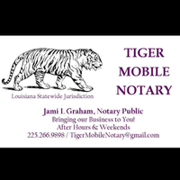 Notary Public in Prairieville, Louisiana 70769, Jami Graham