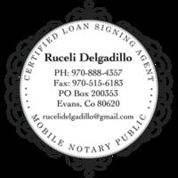 Notary Public in Evans, Colorado 80620, Ruceli Delgadillo