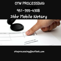 Notary Public in Moreno Valley, California 92552, Oubi Welton
