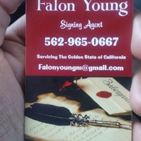 Notary Public in Lakewood, California 90715, Falon Young